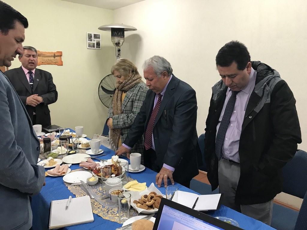 Reunión de coordinación UNIPECH Lampa, Batuco y Polpaico
