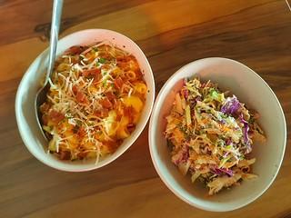 Mac & Cheese; Creamy Slaw at Yavanna