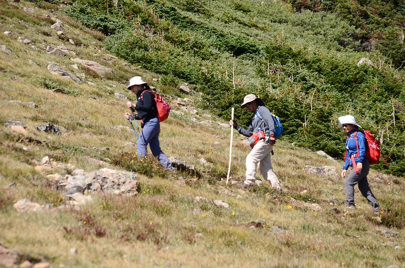 Up to Russell Peak on the Continental Divide Trail (8)