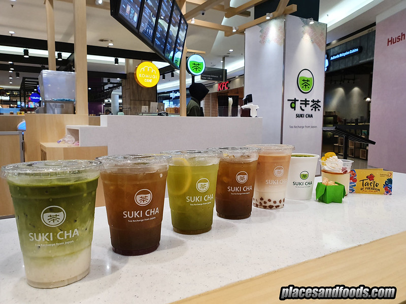 taste of paradigm mall sukicha drinks