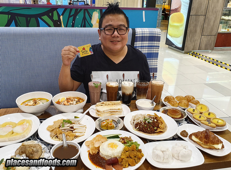 taste of paradigm mall nam heong ipoh food