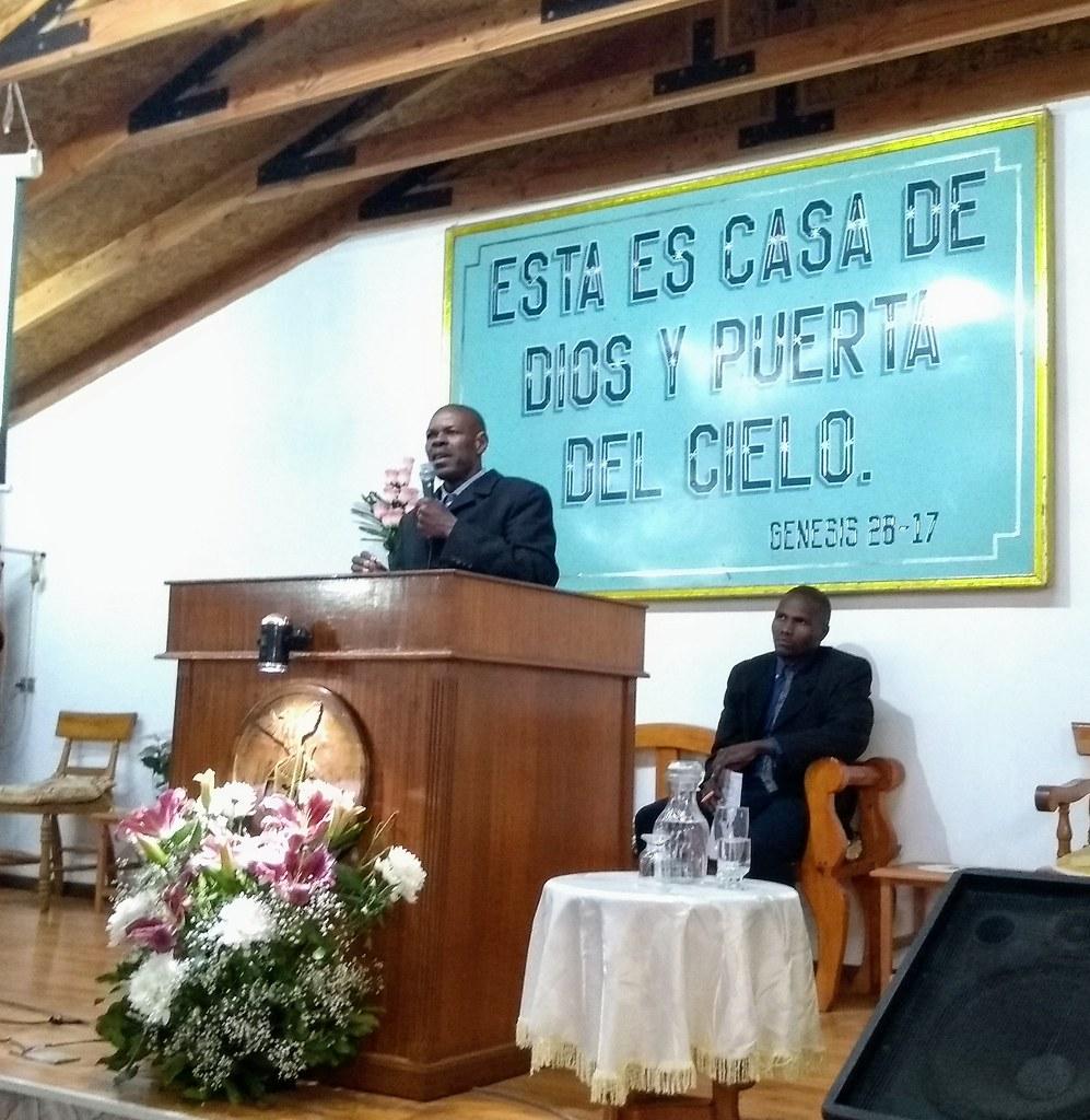 Primer Aniversario Comunidad Haitiana en Quinta de Tilcoco