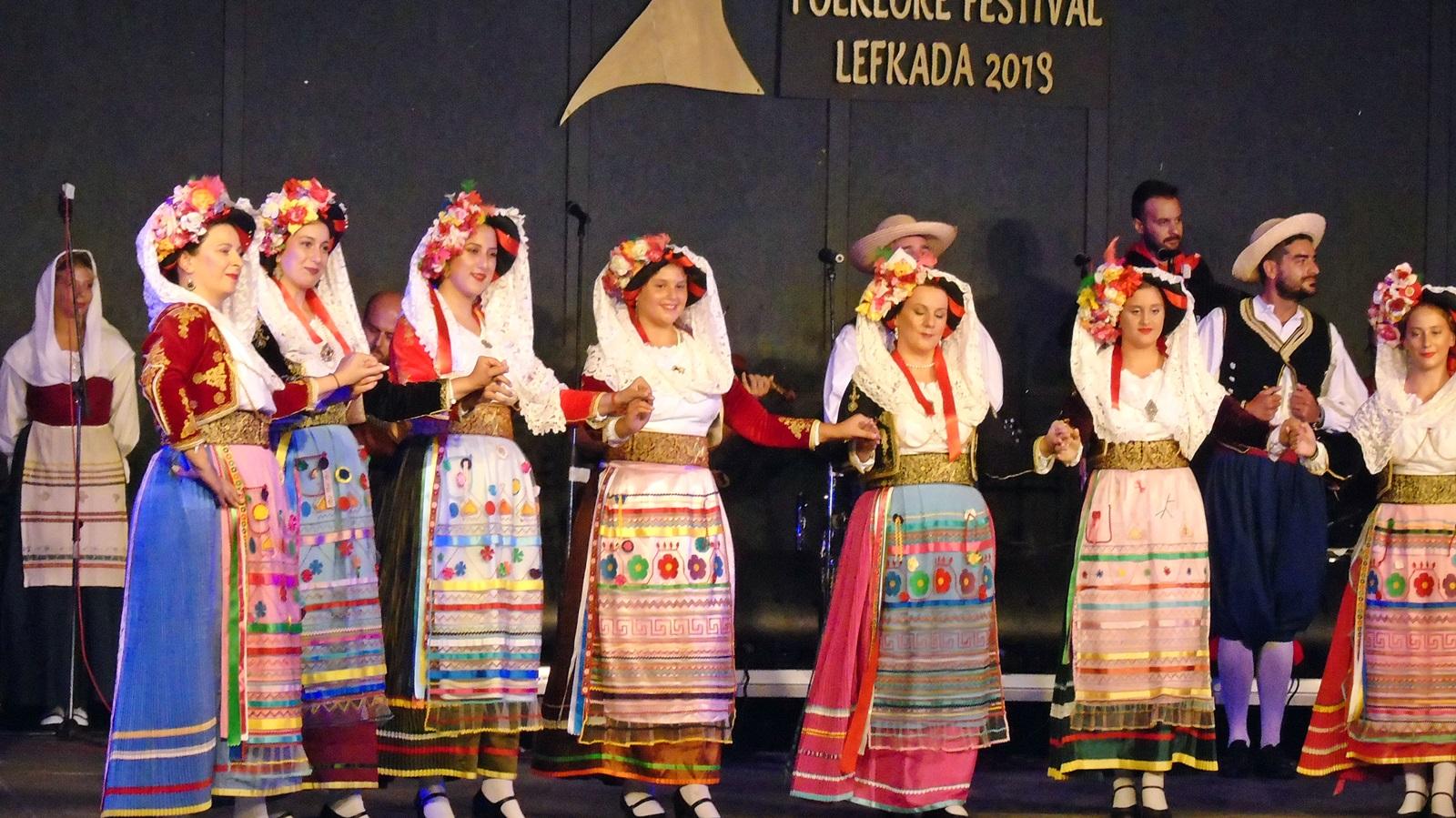 Ο «Ορφέας» στο Φεστιβάλ Φολκλόρ Λευκάδας (+ Ιράν, Χιλή, Παραγουάη)