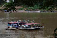Mekong car ferry, Luang Prabang