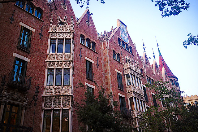 Barceloneando: La Casa de les Punxes