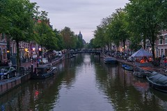 Amsterdam in afternoon.