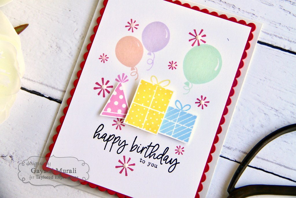 Happy Birthday card closeup1