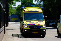 Ambulance Rotterdam-Rijnmond Roepnummer: 17-103