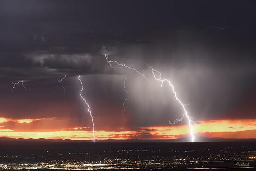 lightning storm rain clouds elpaso texas ctg sonya7iii canonef70200mmf28lisiiusm sky weather landscape monsoon sigmamc11