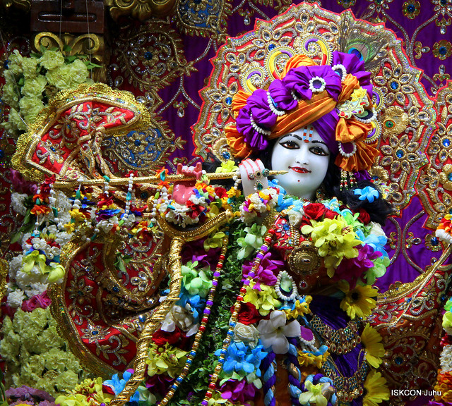 ISKCON Juhu Sringar Deity Darshan on 24th Aug 2019