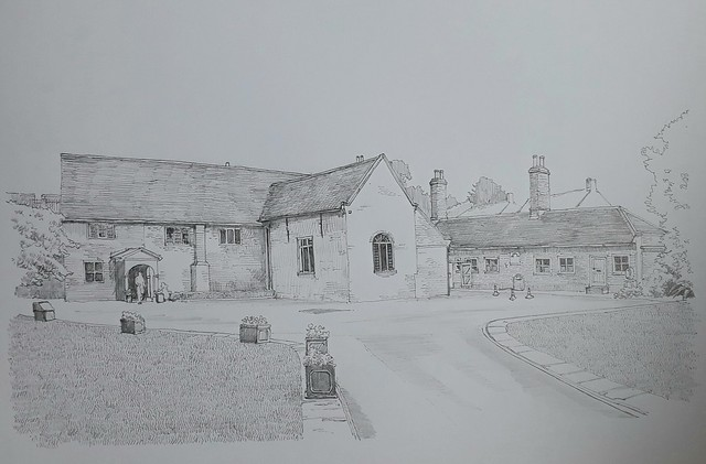 The Merchant Taylors' Hall, Aldwark, York (#DrawingAugust, day 23)