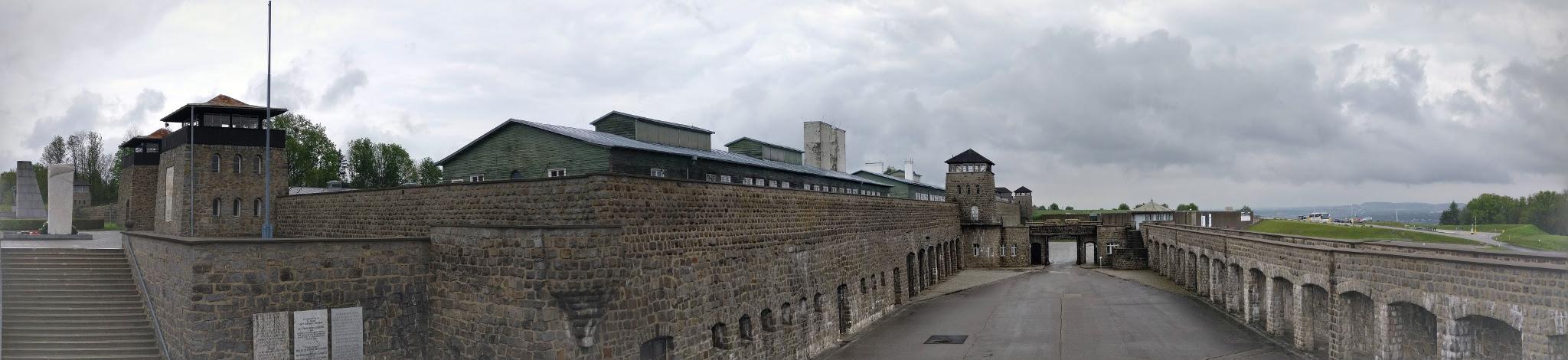 Mauthausen panoramic