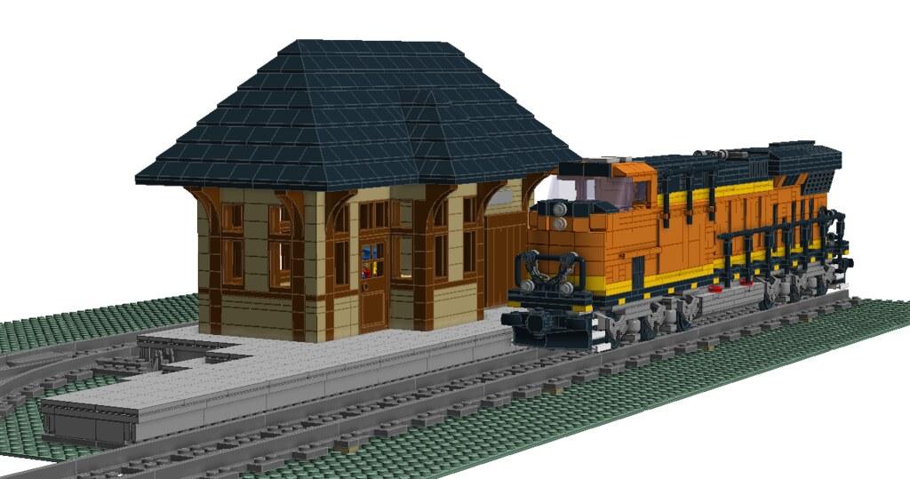 train station 11 w bnsf