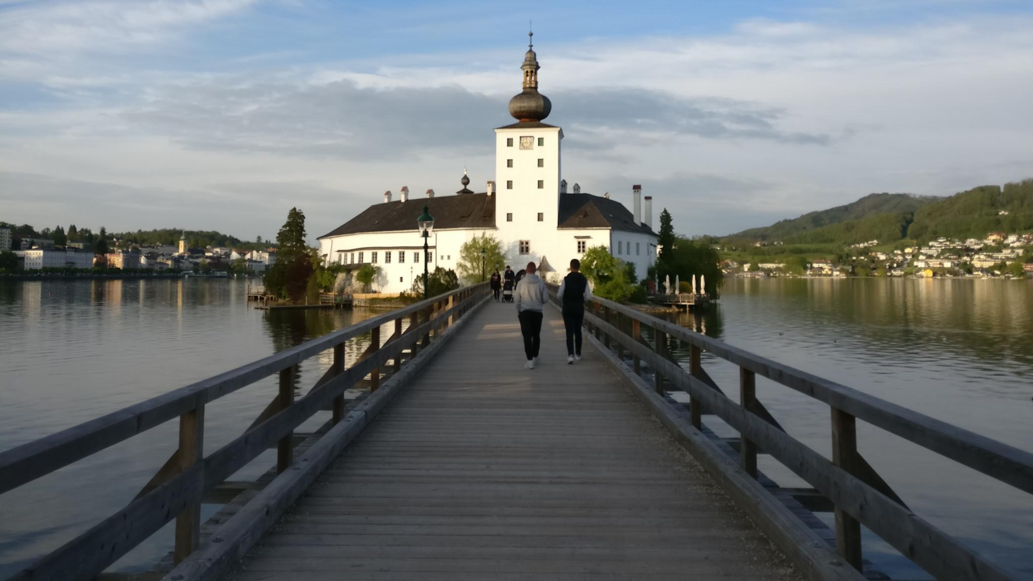 Gmunden's Schloss Ort Castle