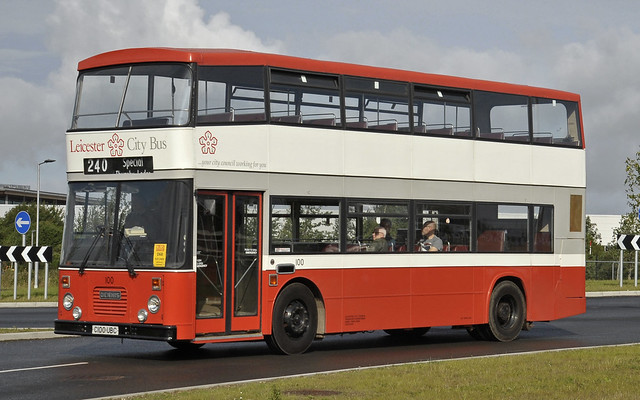 C100UBC Leicester City Bus 100