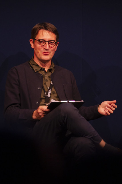 Festival Director Nick Barley