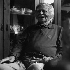Atze Haytsma (90), sculptor, photographer