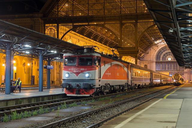 CFR 477 551 Budapest Keleti