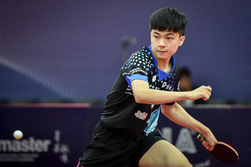 林昀儒。﹝圖/ITTF提供﹞