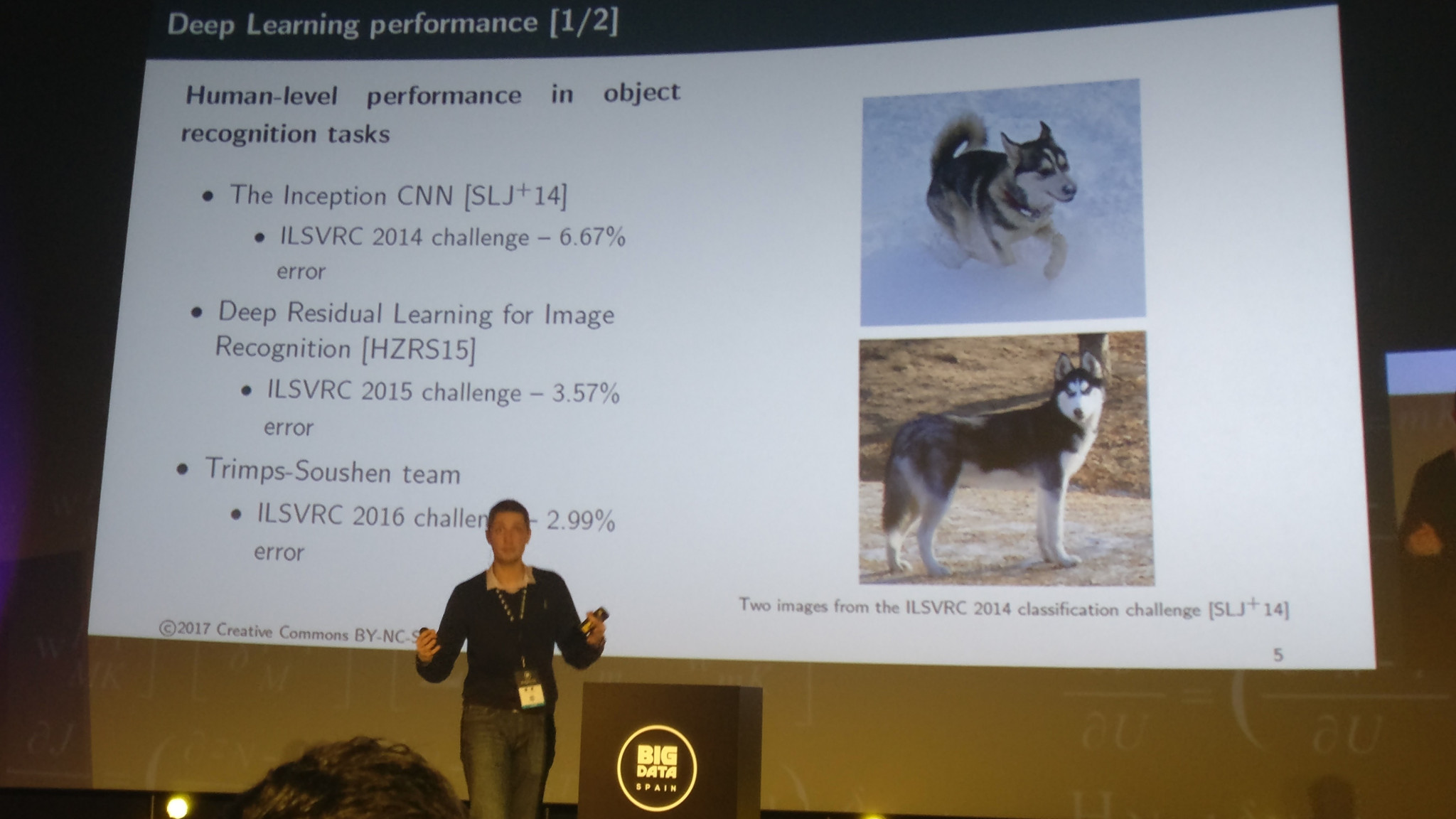 Nikolay Manchev - Deep Learning performance vs human-level performance in object recognition tasks