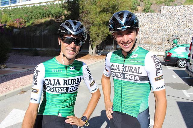 Entrenamiento La Vuelta 2019