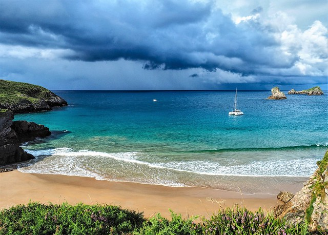 Playa Almenada. Asturias.