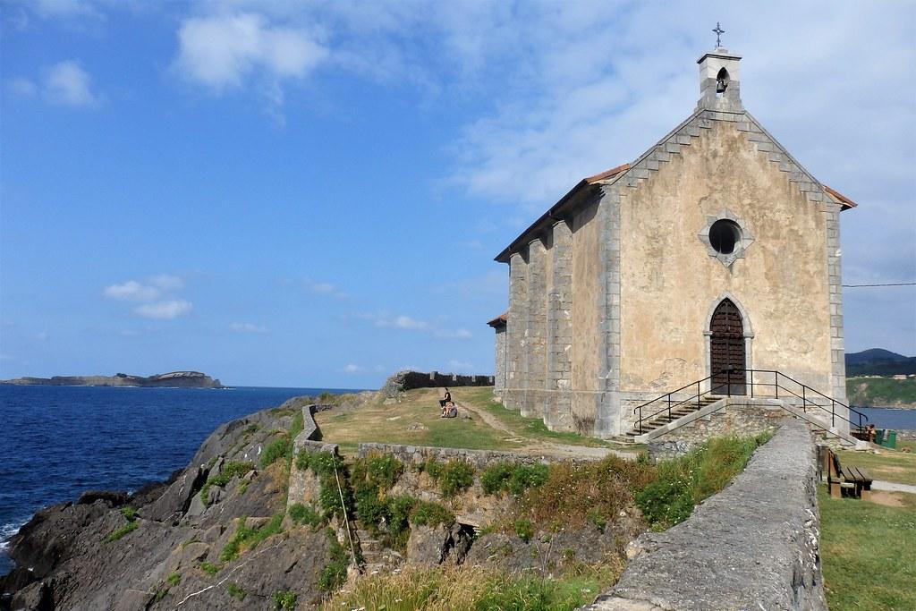 Mundaka - Santa Katalina ermita - Bizkaia.