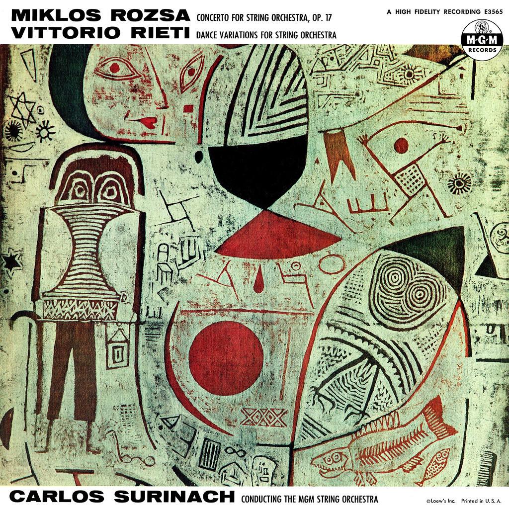 Miklos Rozsa Concerto for String Orchestra