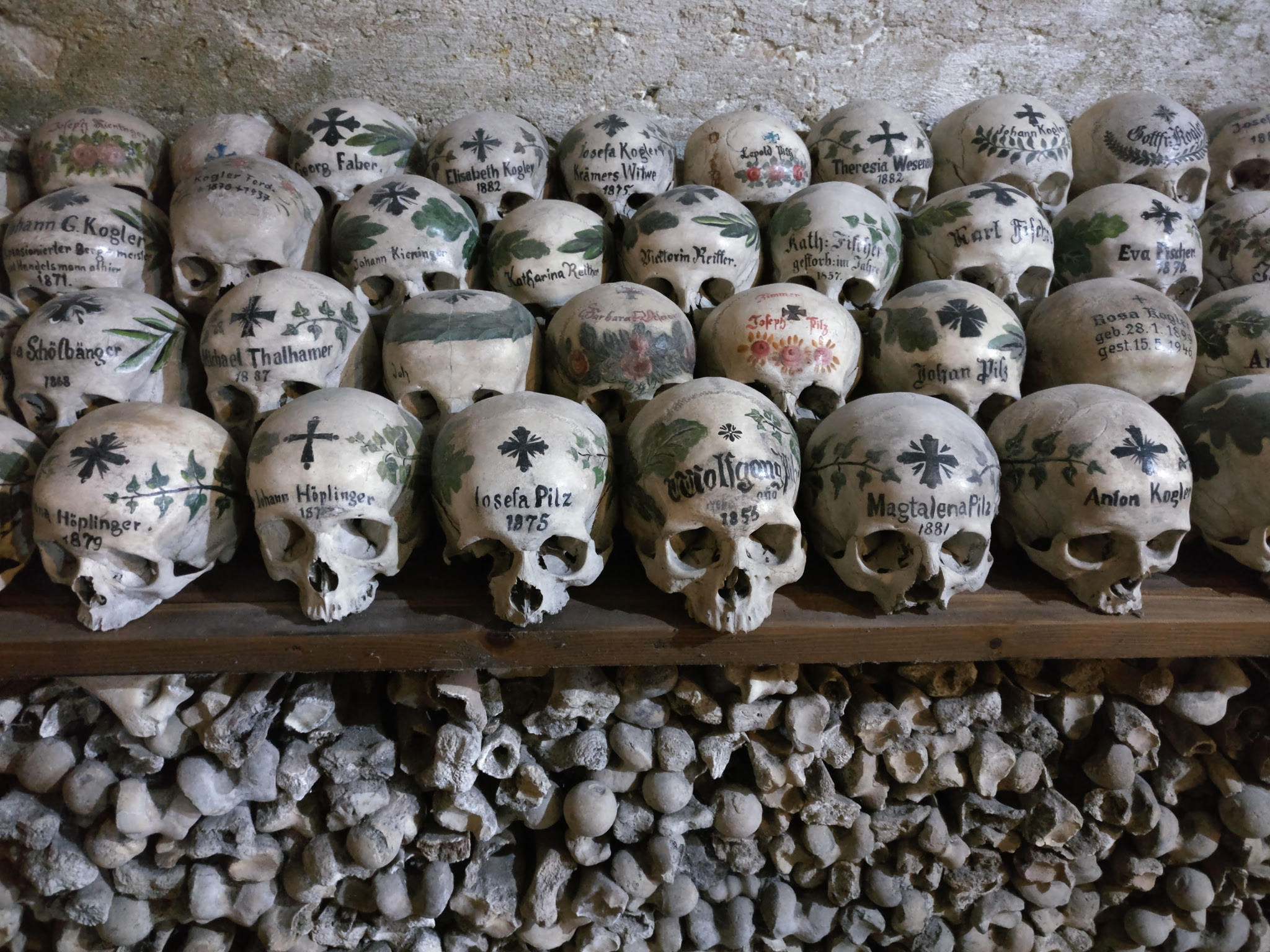 Hallstatt Beinhaus, where you can show off your skull forever