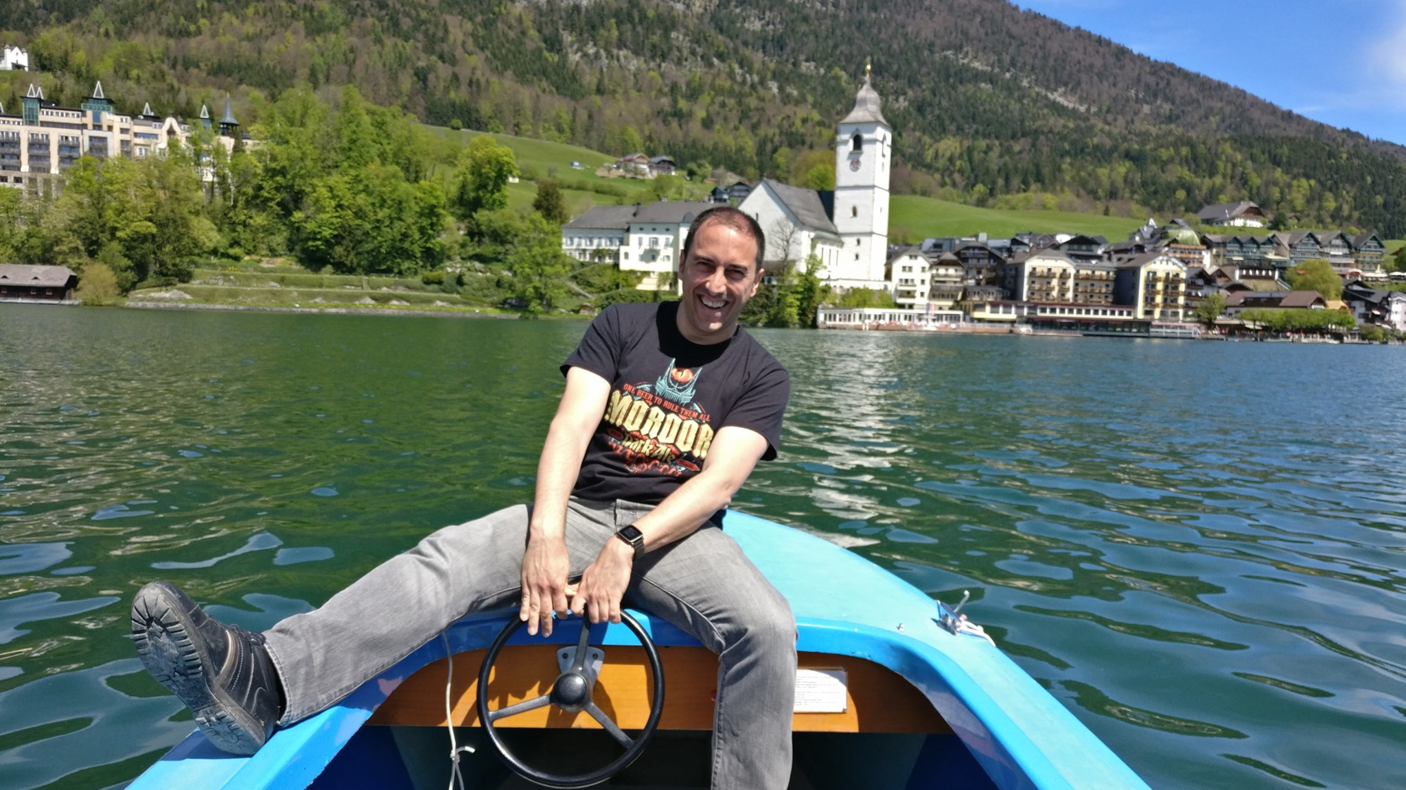 Sailing on the Wolfgangsee
