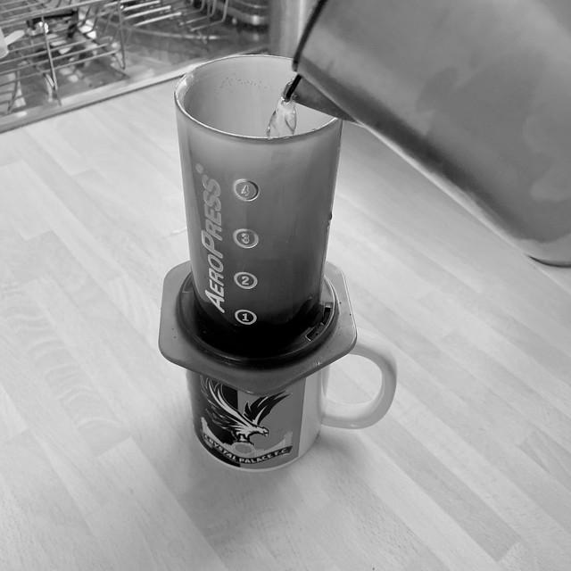 Coffee in my new mug