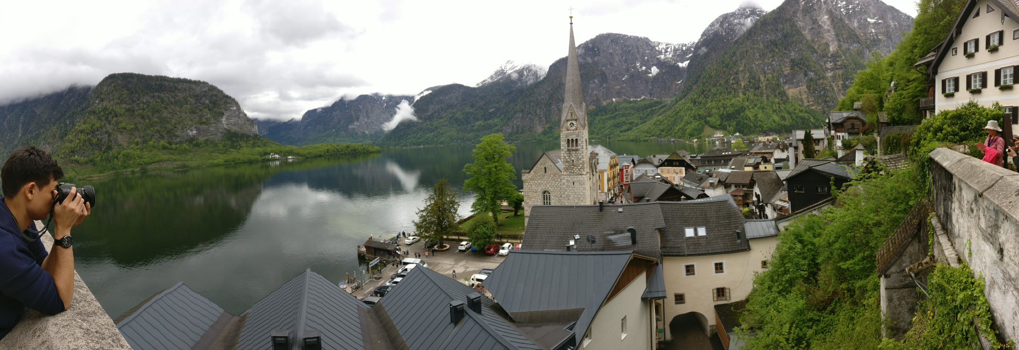 Hallstatt panoramic