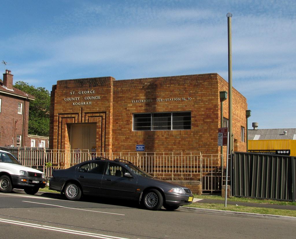 Electrical Substation No 10, Kogarah, Sydney, NSW.