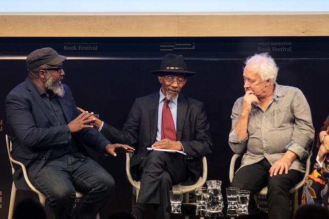 Roger Robinson, Linton Kwesi Johnson & Anthony Wall