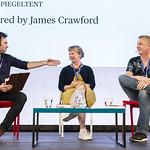 SUZANNJames Crawford, Kate Hamer & Doug Johnstone | © Suzanne Heffron