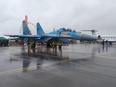 AIR TATTOO // RIAT-2019 (Ukrainian Air Force Sukhoi Su-27P Flanker) Cy-27