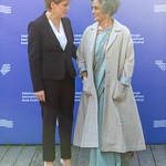 Nicola Sturgeon & Arundhati Roy | © Roberto Ricciuti