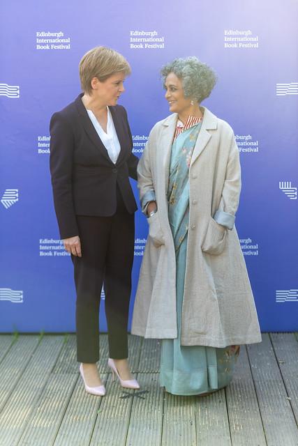 Nicola Sturgeon & Arundhati Roy