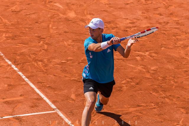 D. Thiem vs P. Cuevas, Roland Garros 2019