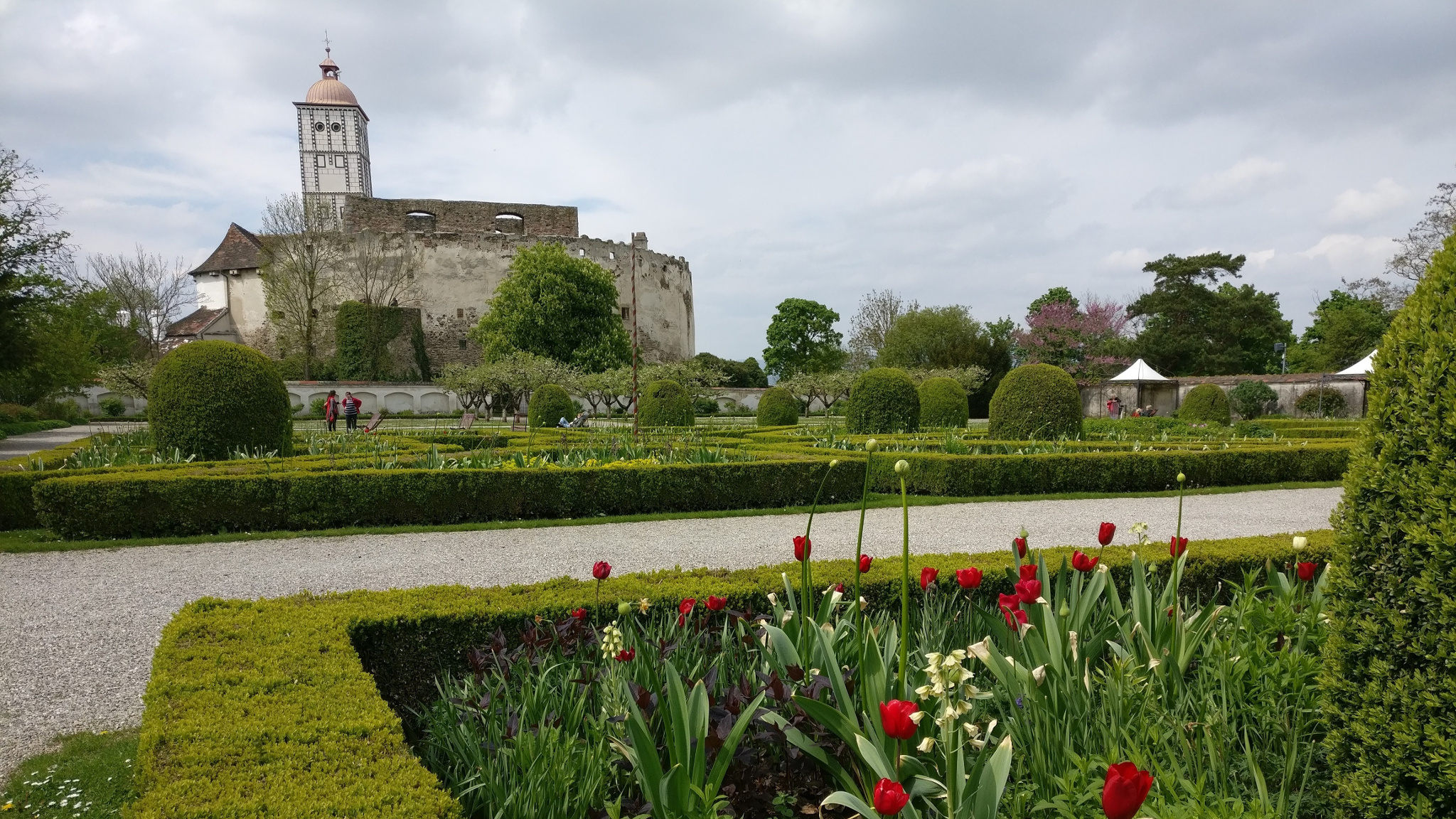 Schallaburg Castle and garden