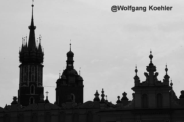 Krakow silhouette