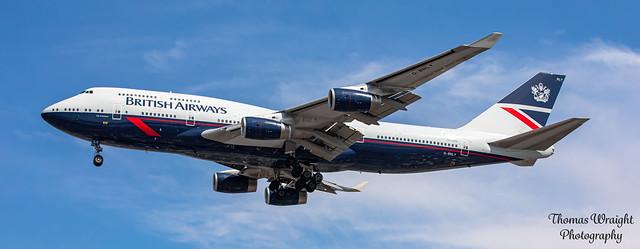 British Airways Boeing 747-4