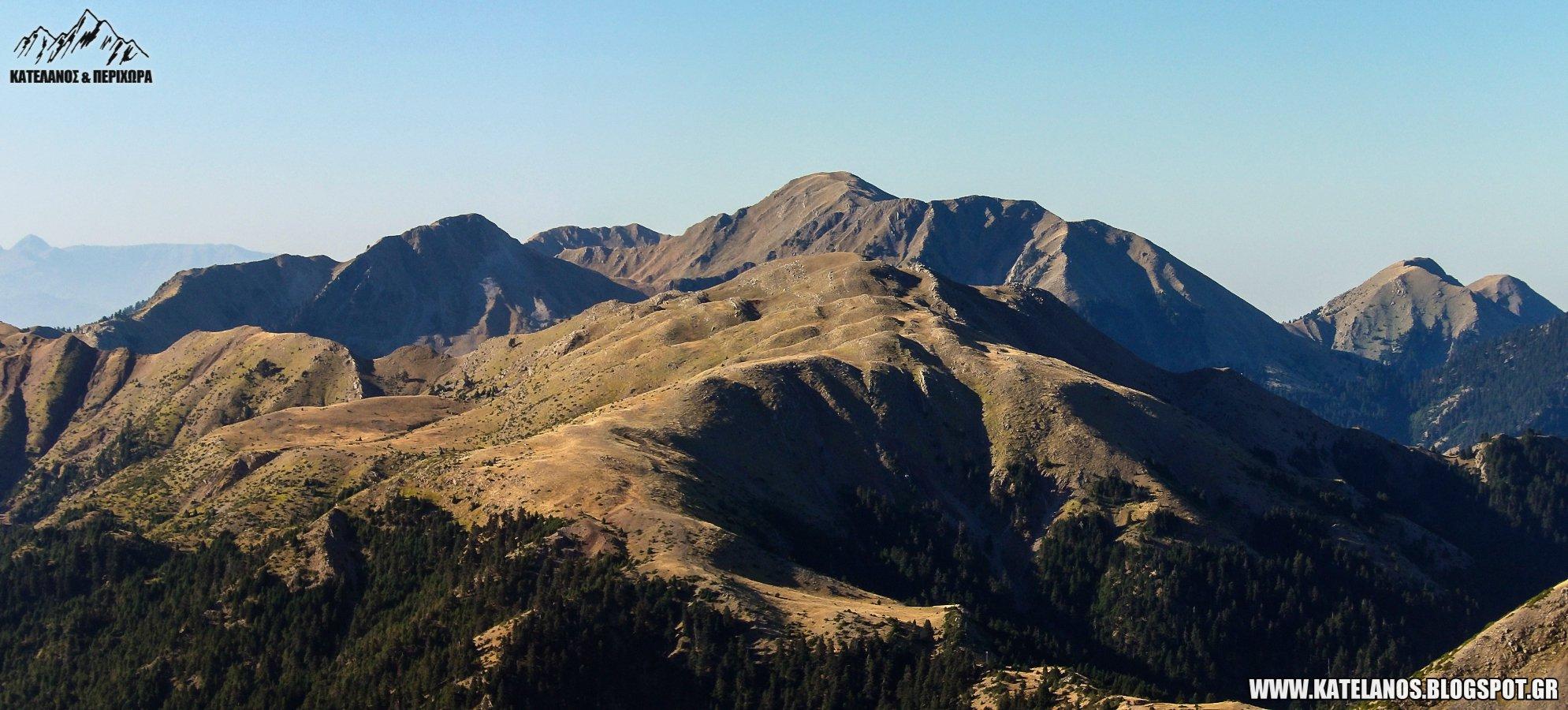 δυτικο παναιτωλικο καταβοθρα κρημνιτσα κατελανος νωρις το πρωι βουνοκορφες