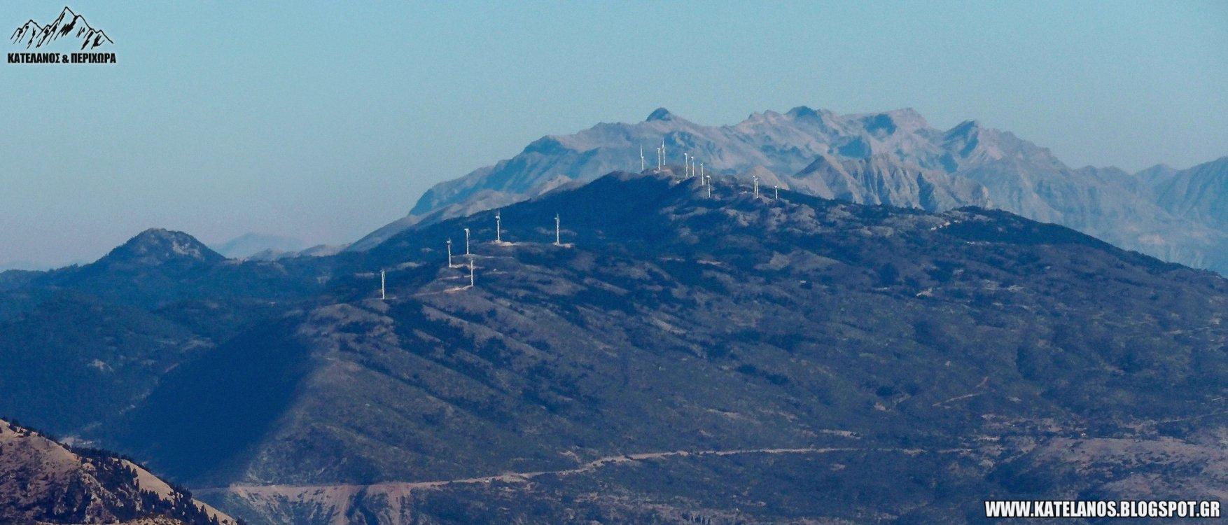 ορη βαλτου ανεμογεννητριες τζουμερκα κατεστραμμενα βουνα αιολικα παρκα