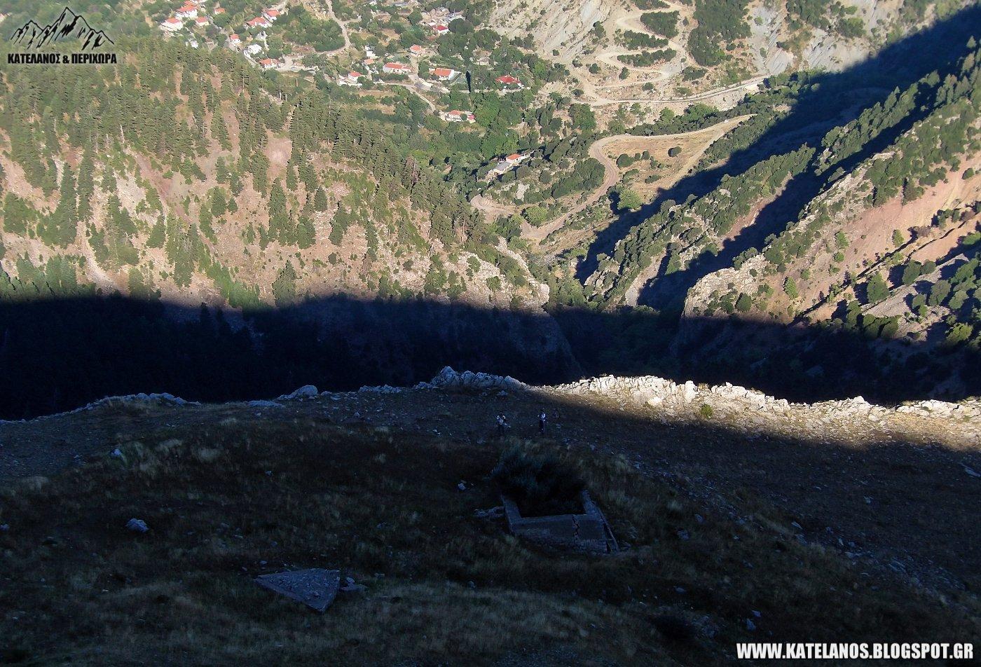 σκιες νωρις το πρωι βουνο ορεινά χωριά αιτωλοακαρνανίας