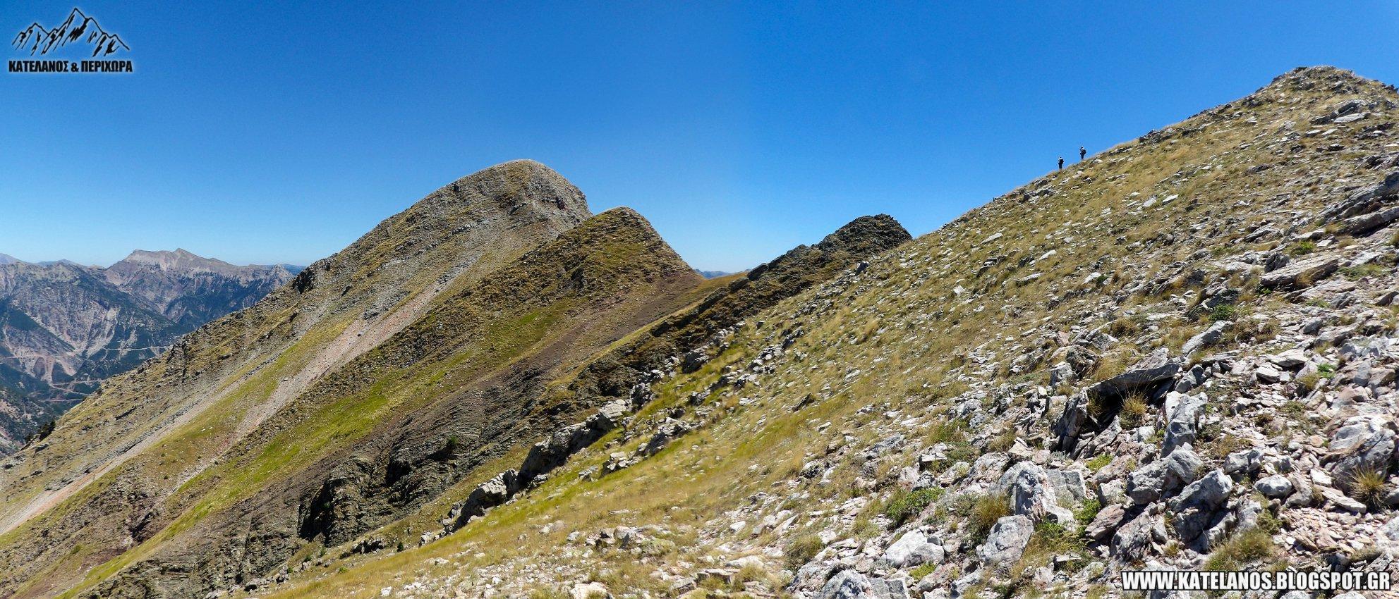 κορυφες στο νεραιδοβουνι παναιτωλικου ορους βουνα αιτωλοακαρνανιας