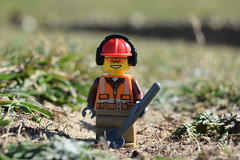 Digging ahead.