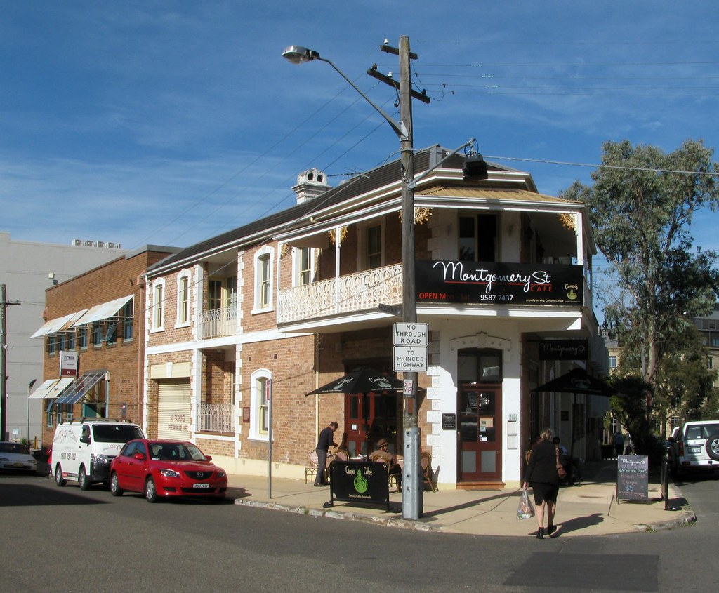 Montgomery St Cafe, Kogarah, Sydney, NSW.