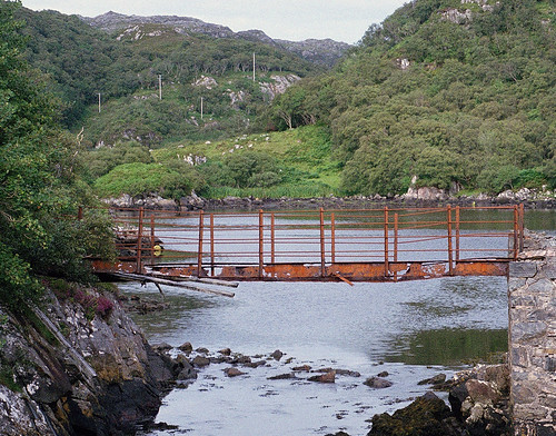 Bridge over Loch Roe narrows 1 | by Northsnapper