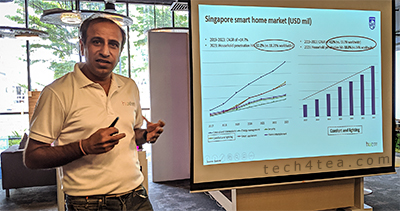 Signify launches Philips Hue Play in the Philips Light Lab in Singapore. Jitender Khurana, Region Head, Signify, shares the strategy for the light bar in Singapore smart home market.